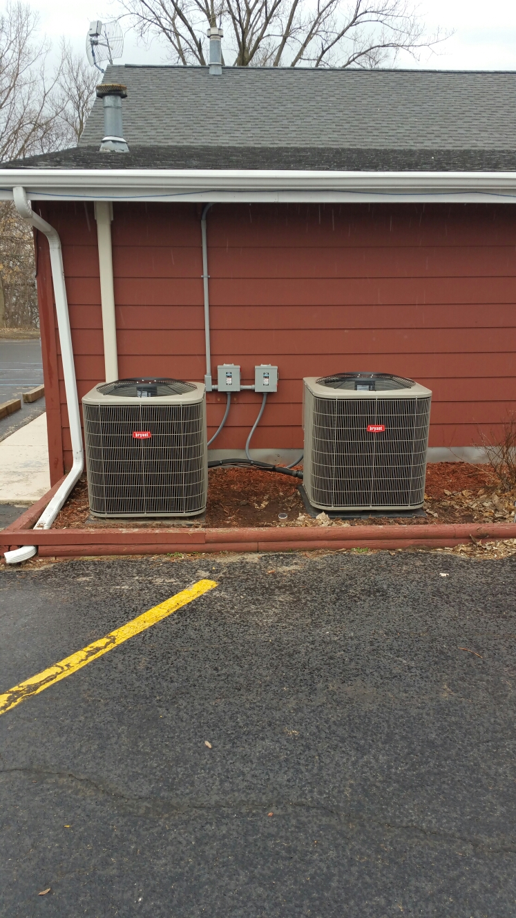 Culver, IN - Spring start up on Bryant air conditioners