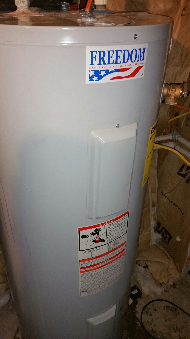Bremen, IN - Install energy control switch on Freedom water heater