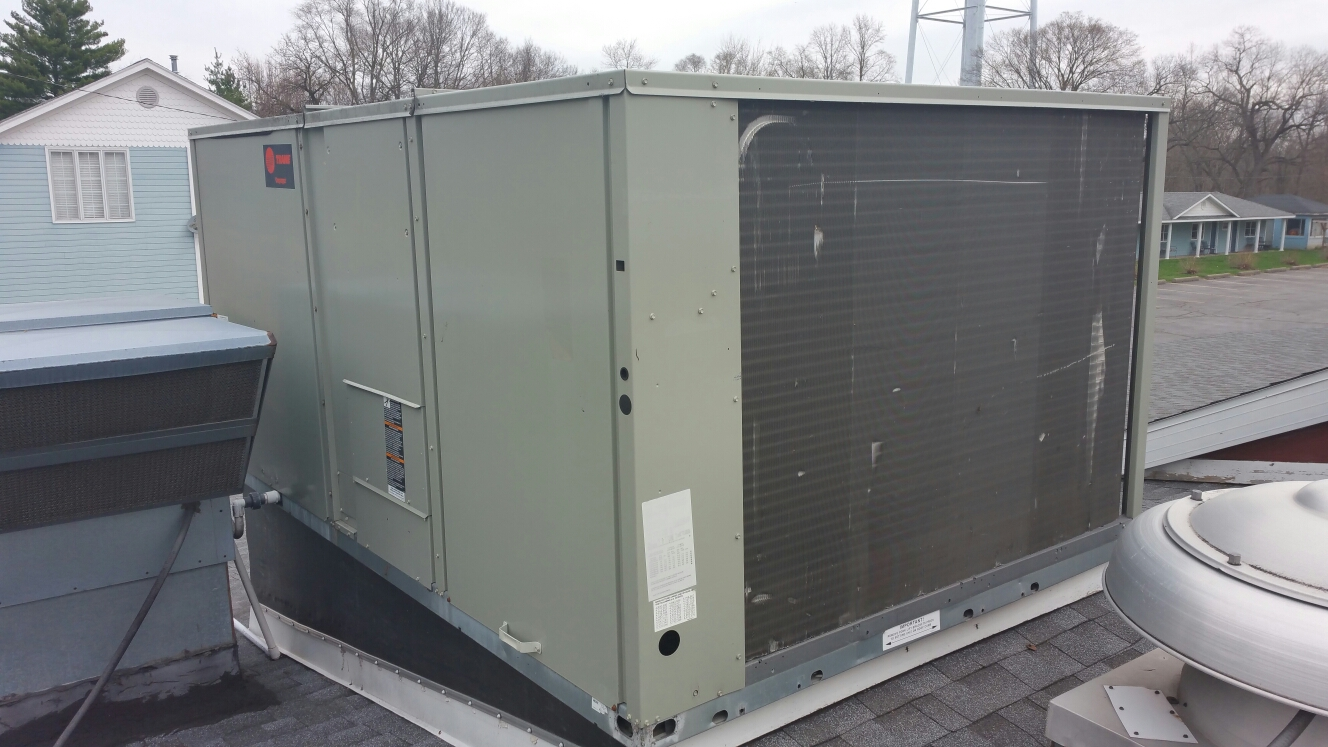 Culver, IN - Service repair Trane rooftop package unit