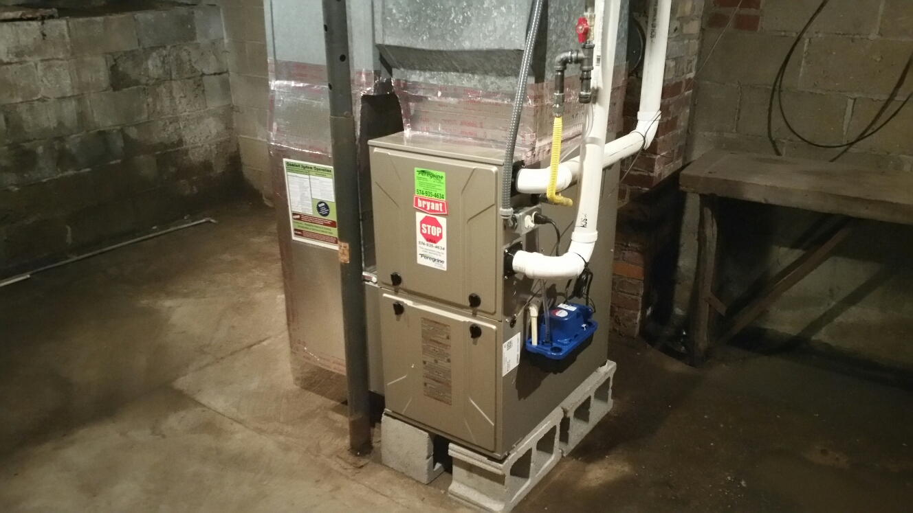 Argos, IN - Install Bryant furnace