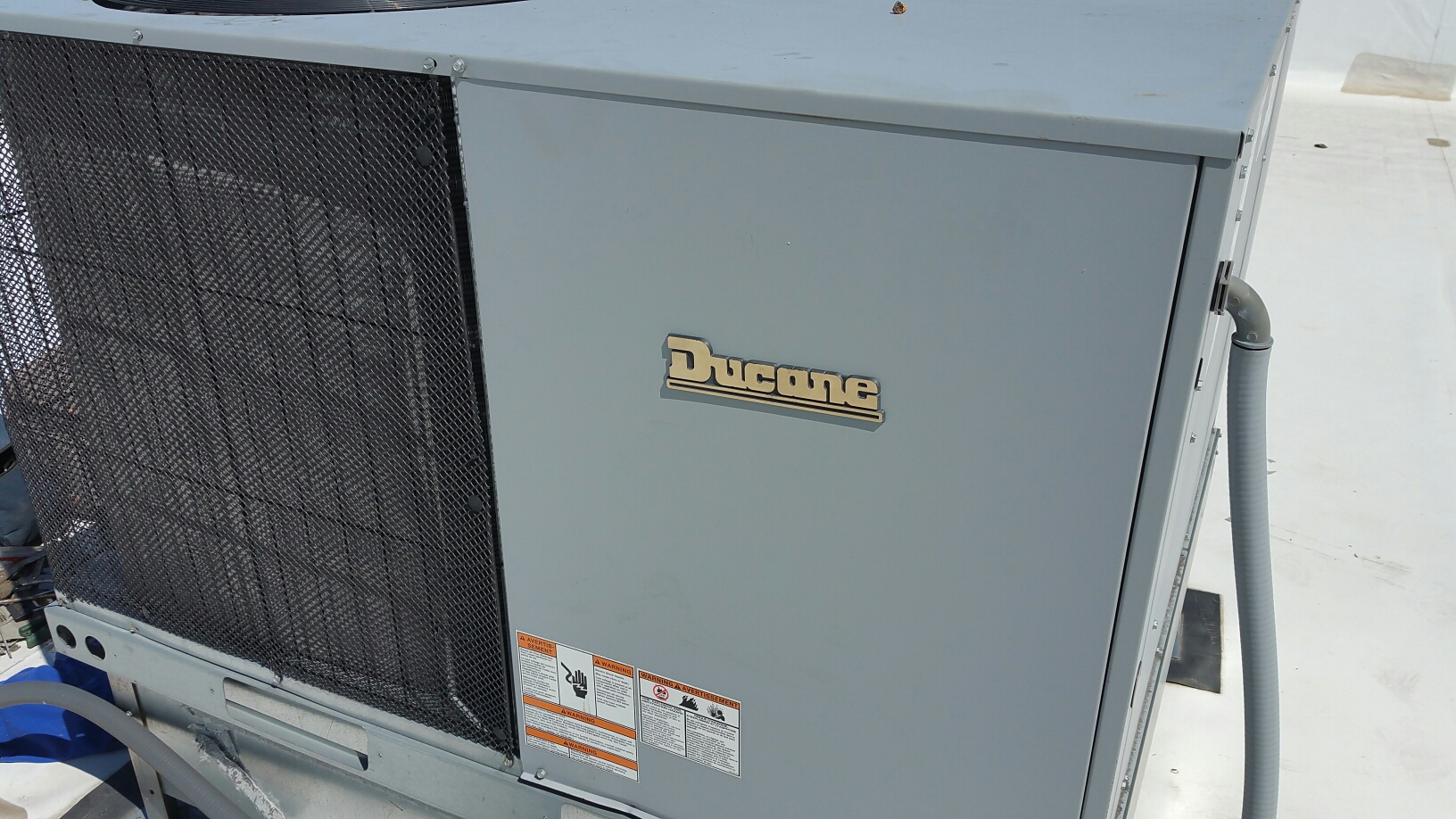 Argos, IN - Ducane rooftop package air conditioner tuneup service