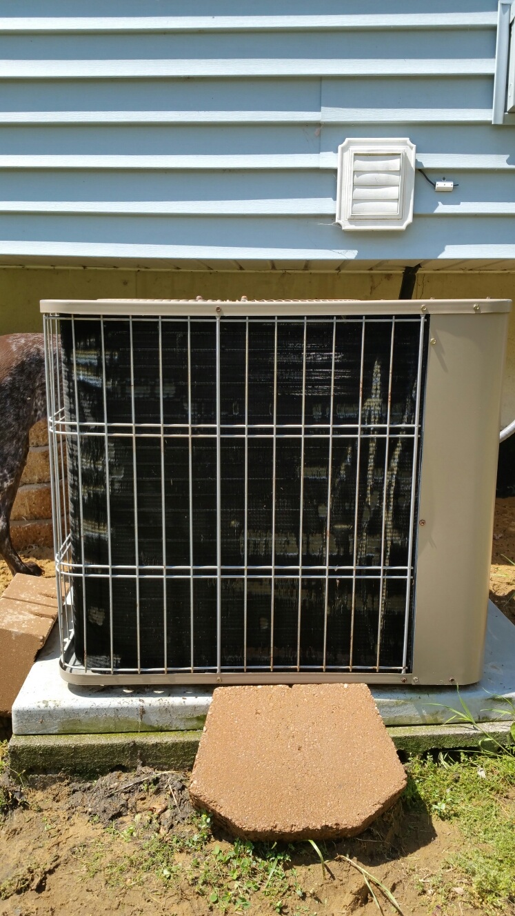 Walkerton, IN - Preventive maintenance on an Air Ease air conditioning unit