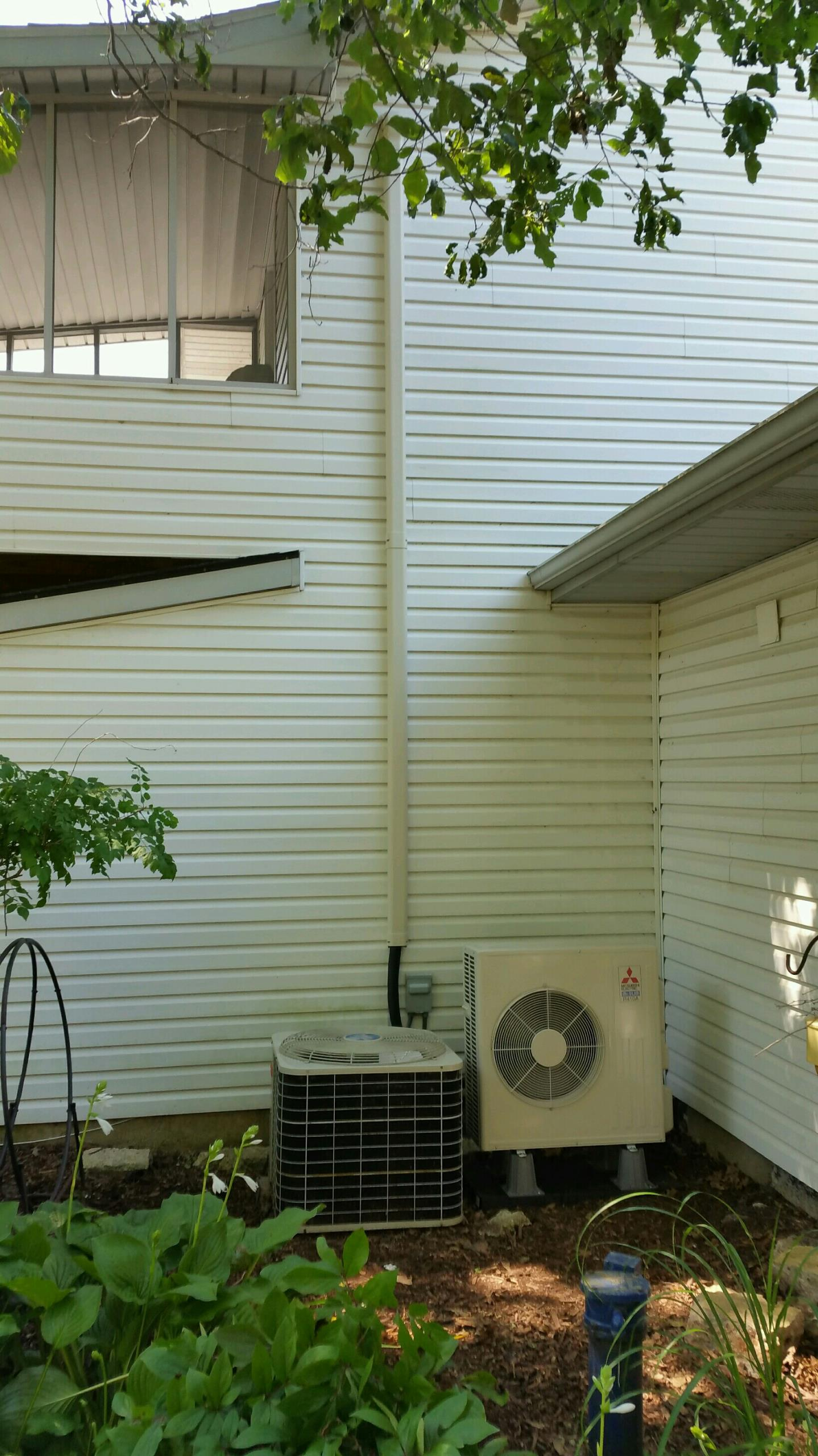 Bluffton, IN - Install Mitsubishi mini split heat pump