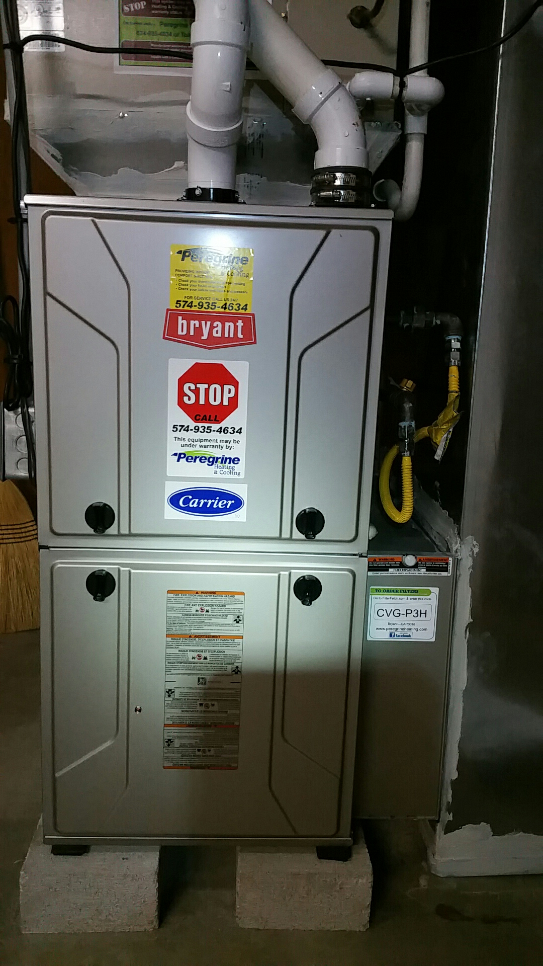 Bremen, IN - Perform preventive maintenance on a Bryant model 915