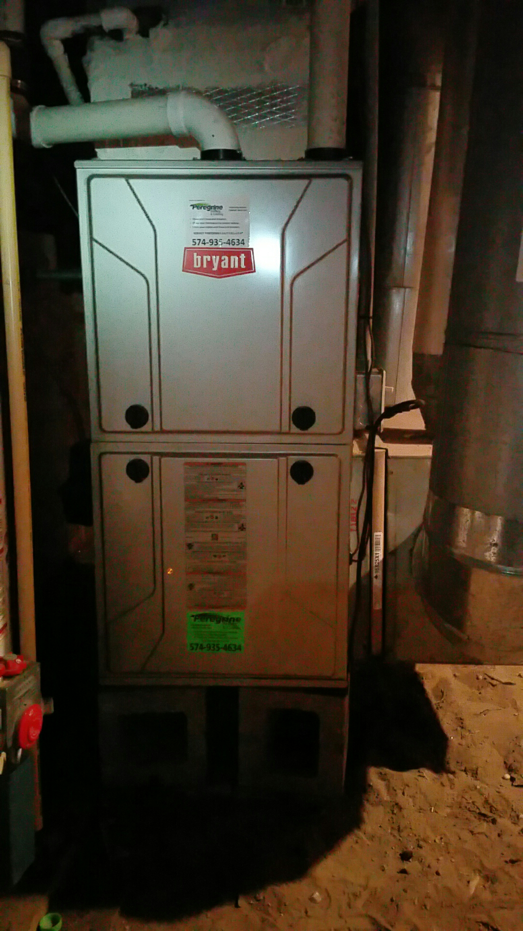 Walkerton, IN - Install new Bryant 915TA furnace