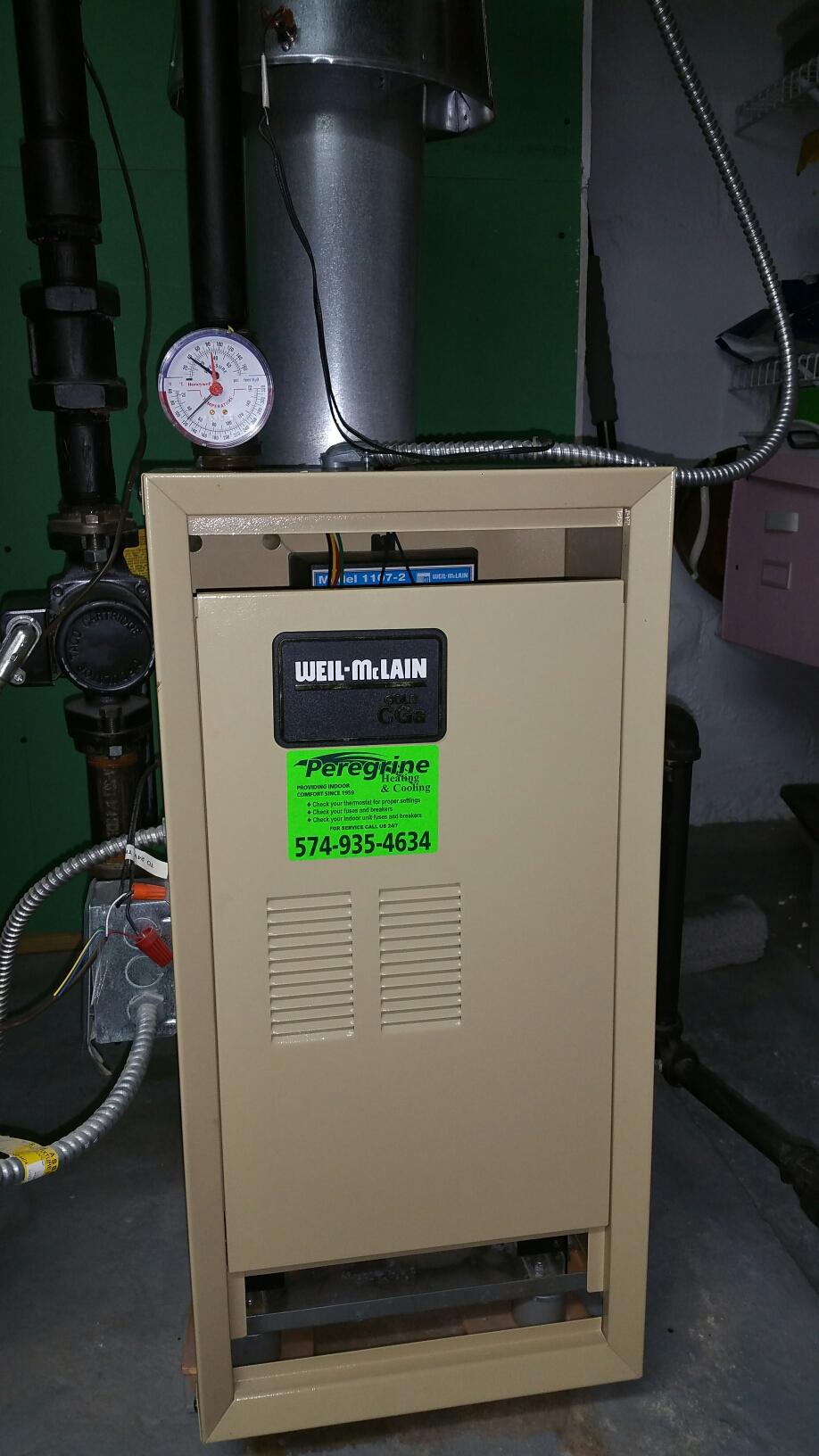 Walkerton, IN - Weil McLain boiler tuneup service