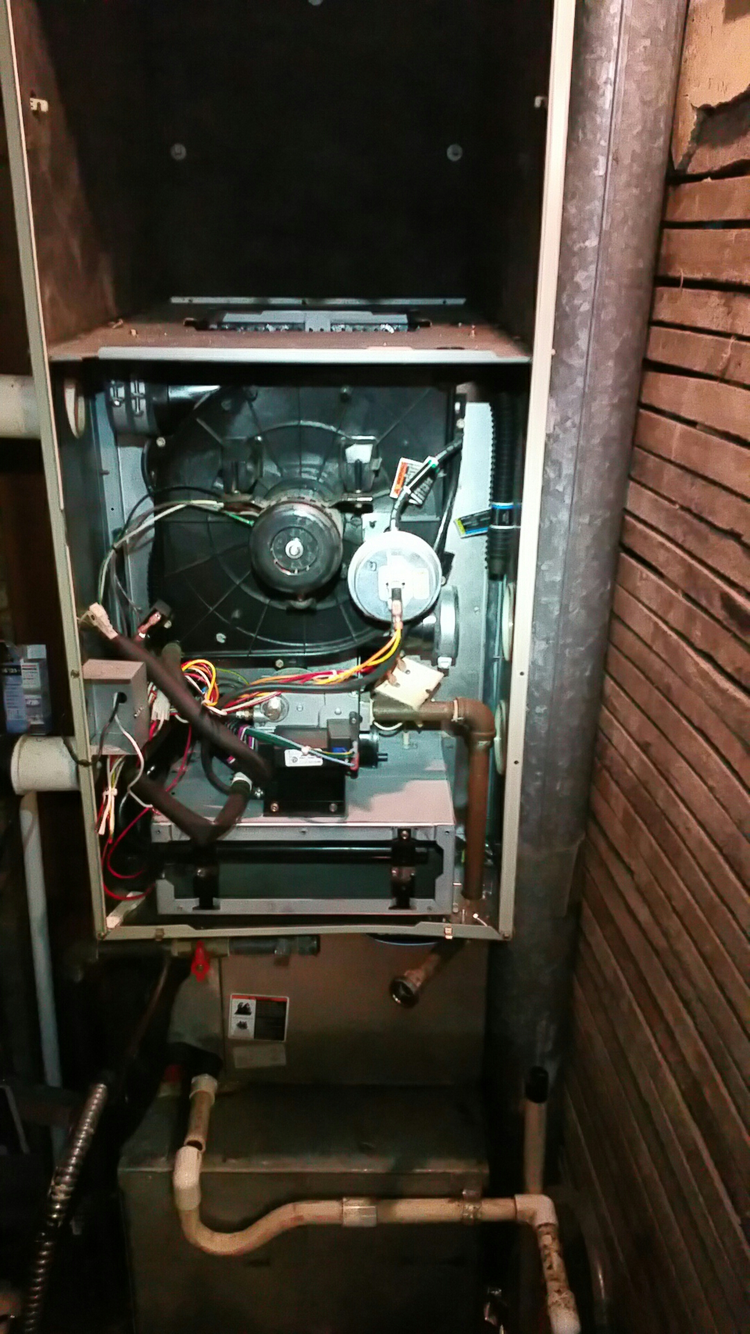 Walkerton, IN - Remove existing Carrier furnace