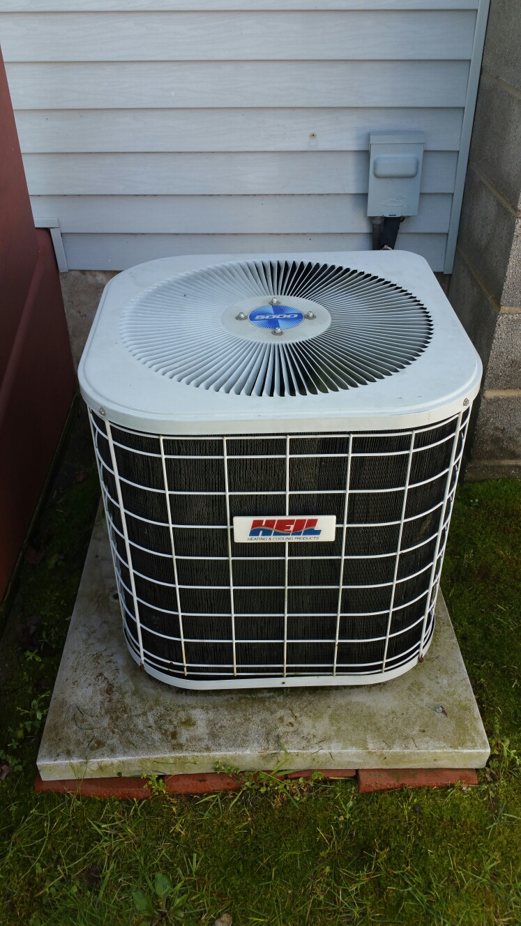 Bremen, IN - Heil ac air conditioner tuneup service