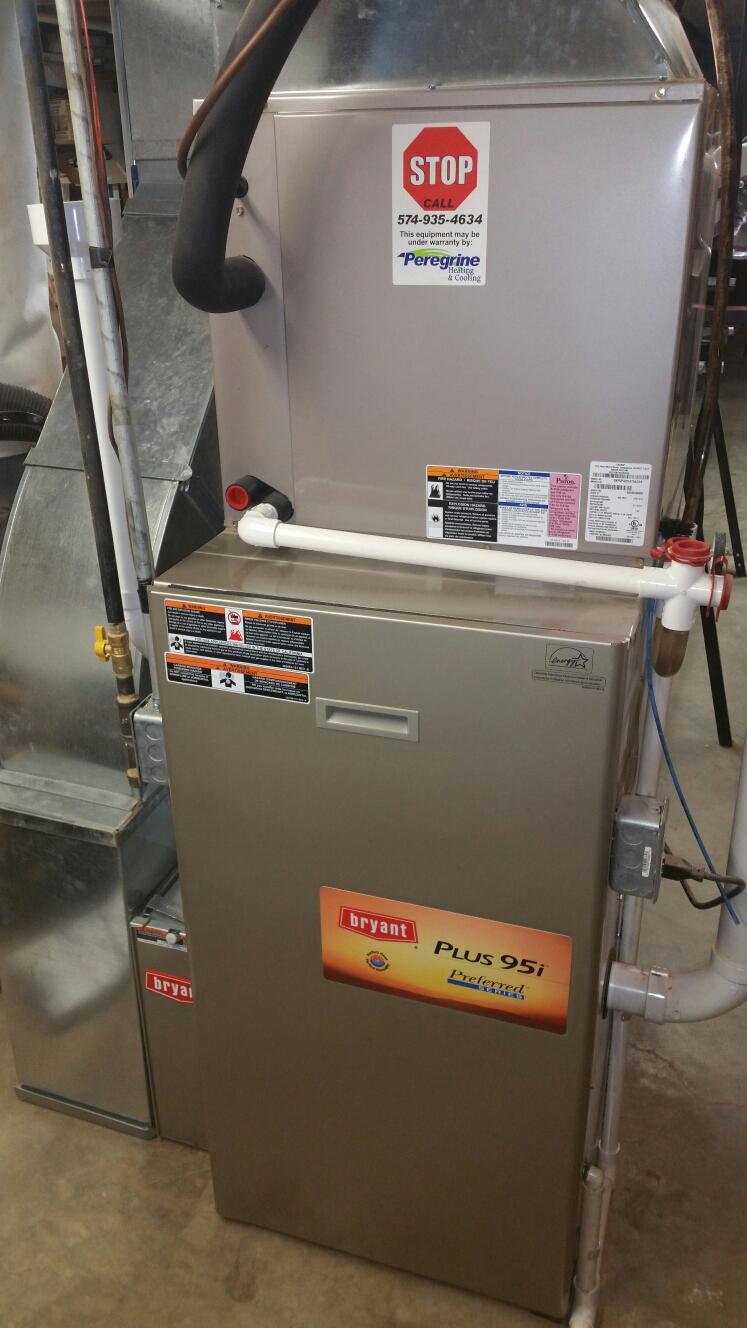 Argos, IN - Bryant furnace tuneup service