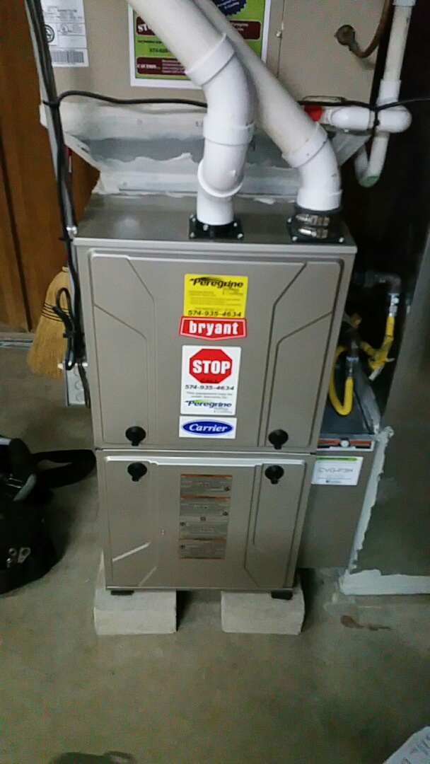 Bremen, IN - Maintenance on a Bryant model 915 furnace