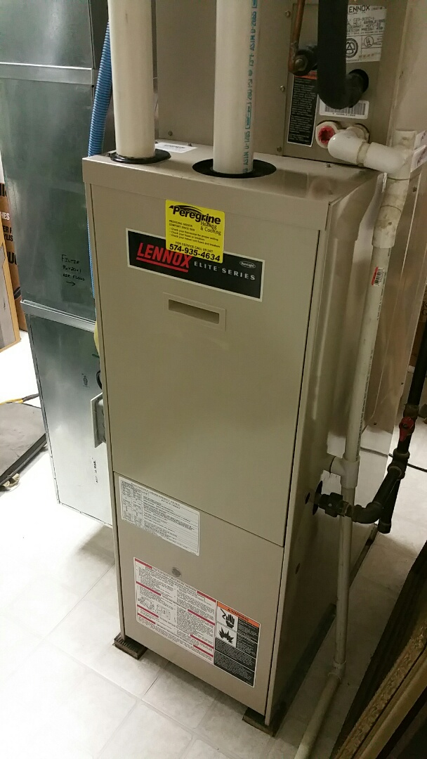 Plymouth, IN - Maintenance on a Lennox elite series