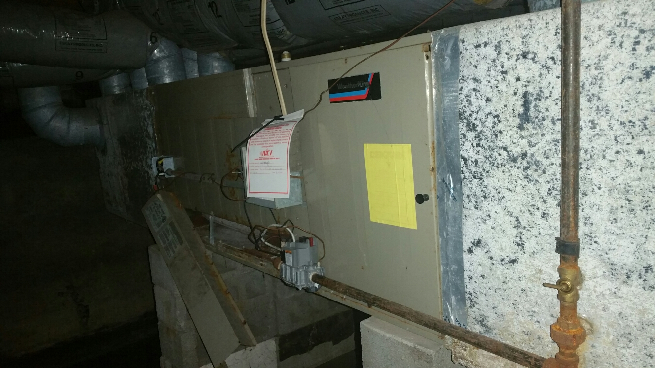 Urbana, IN - Replace Weather king horizontal furnace with Bryant horizontal furnace