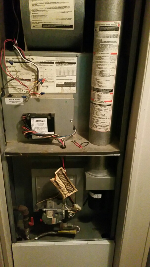 Culver, IN - Furnace inducer motor repair