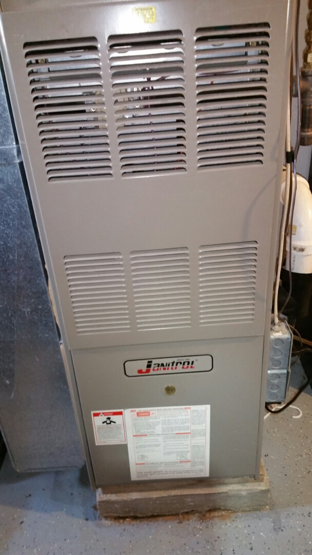Plymouth, IN - Repair on a Janitrol furnace