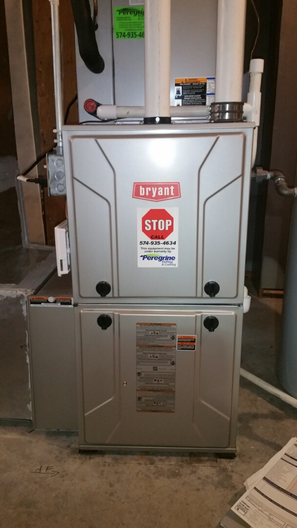 Walkerton, IN - Maintenance on a Bryant model 925 furnace
