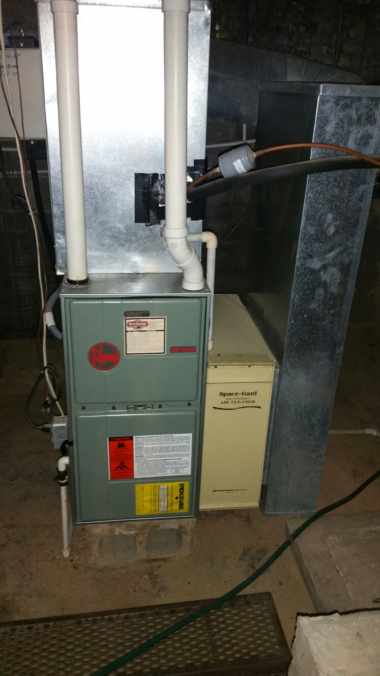 North Manchester, IN - Replace Rheem furnace and Williamson AC with Bryant Evolution furnace and AC