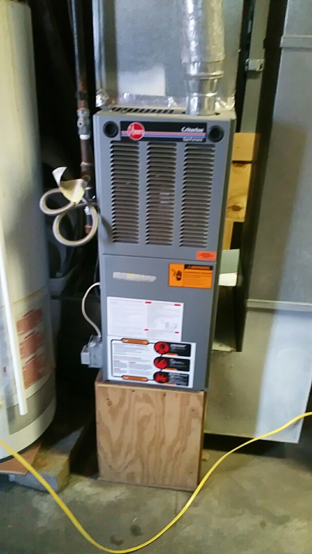 Culver, IN - Perform maintenance on three Rheem units