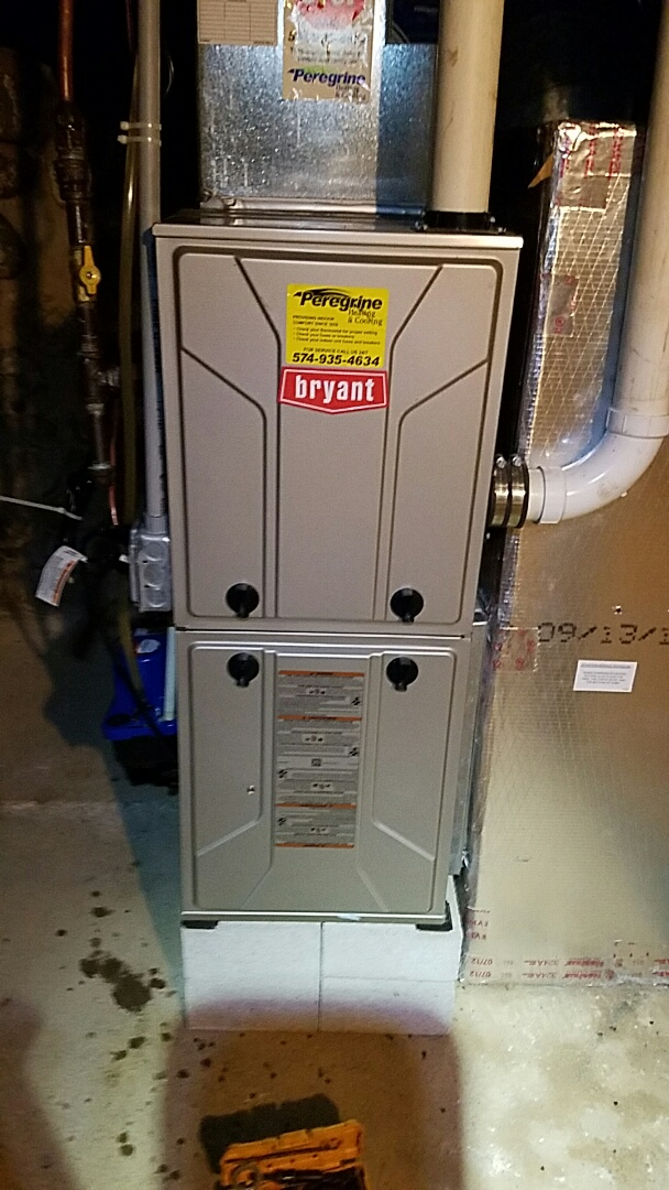 Plymouth, IN - Maintenance on a Bryant model 915 furnace