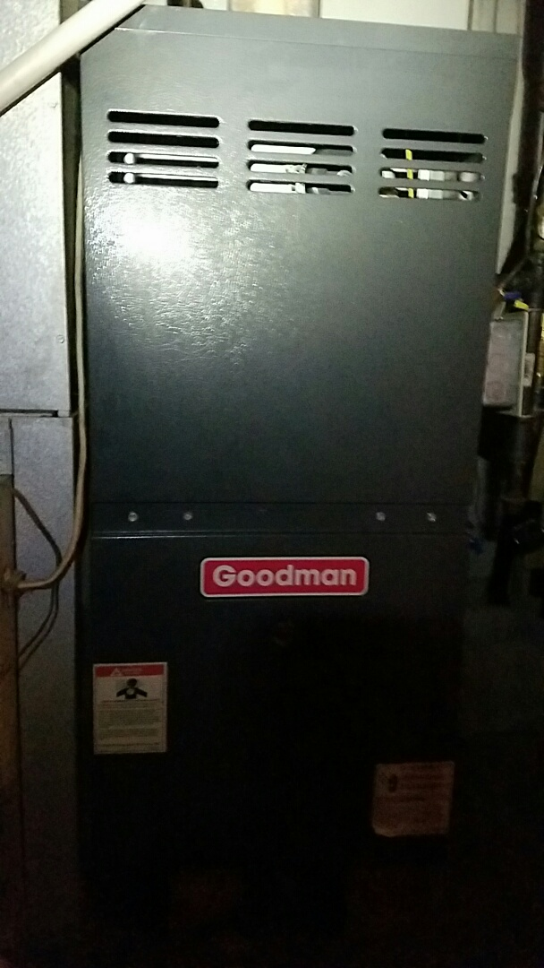 Plymouth, IN - Service on a Goodman furnace