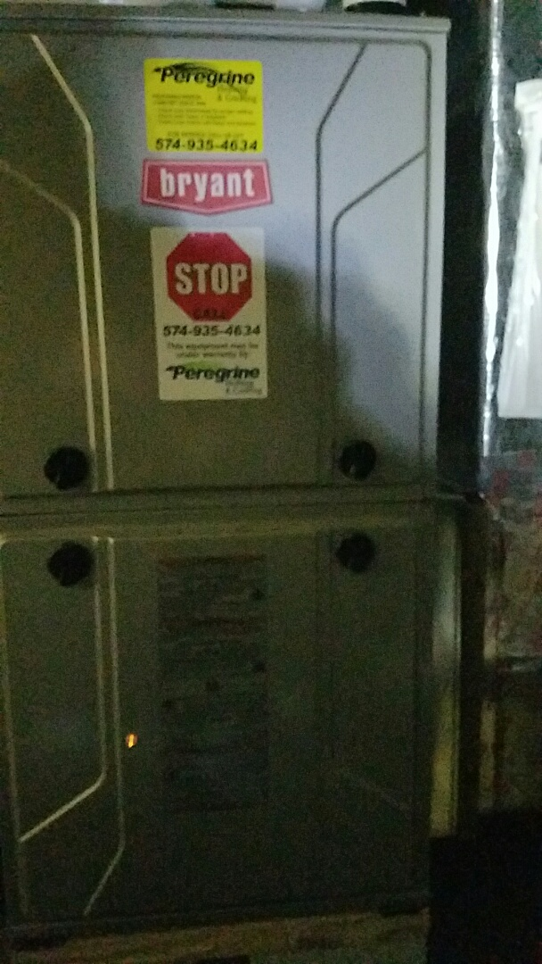 Plymouth, IN - Repair on a Bryant 915 model furnace