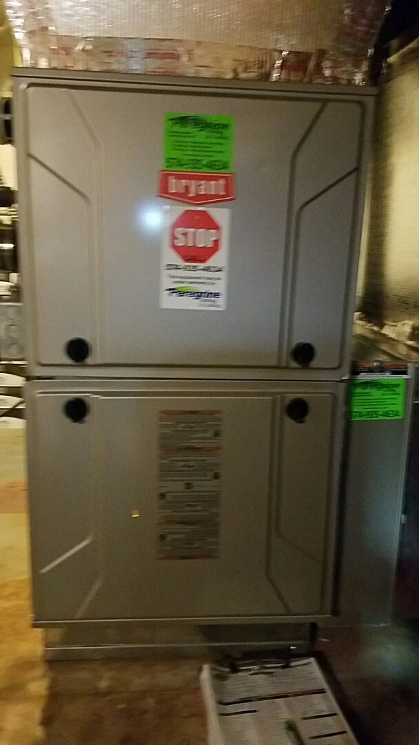 Argos, IN - Maintenance on a Bryant model number 987 furnace