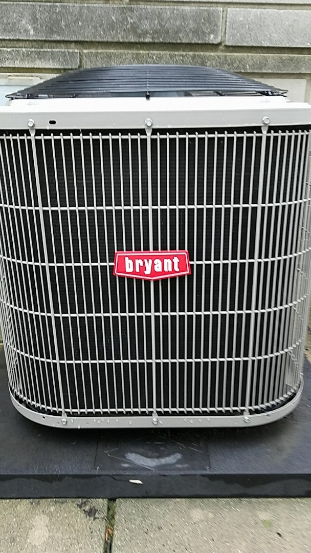 Bremen, IN - Maintenance on a Bryant model 113 air conditioner