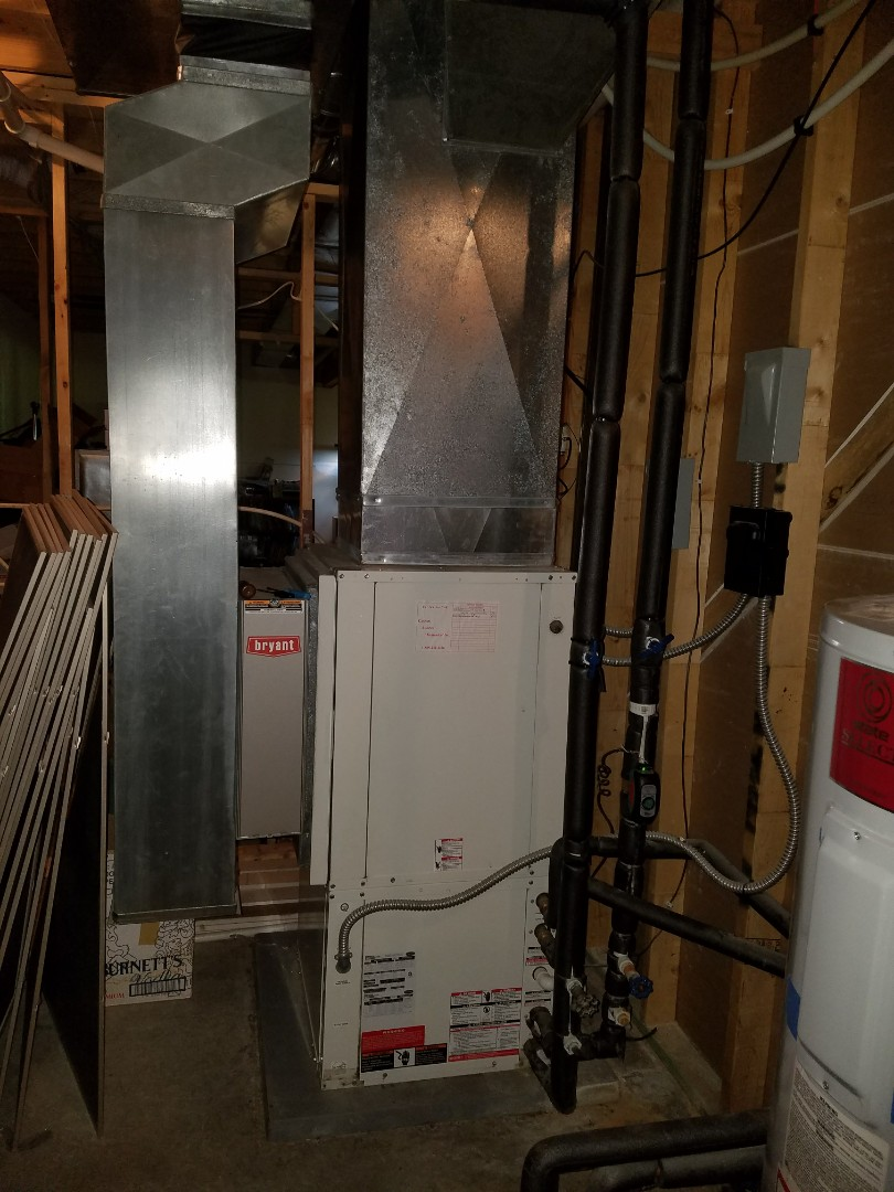 Columbia City, IN - Replace carrier open-loop geothermal system with water furnace series 5-2 stage closed loop system
