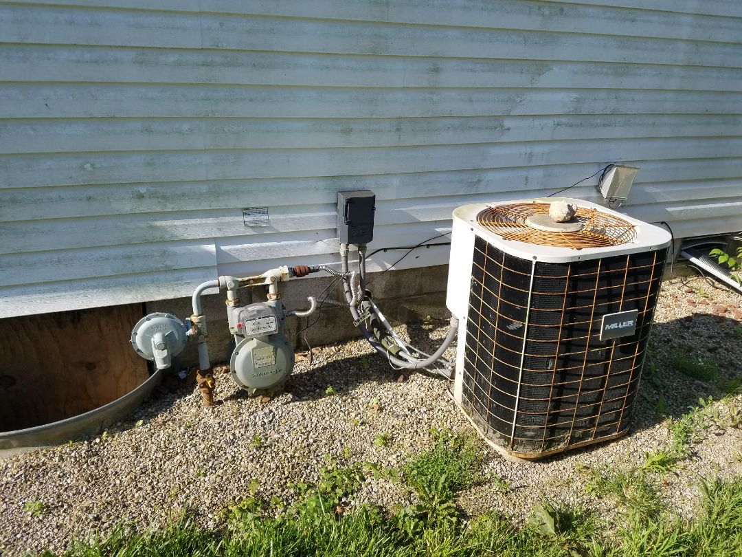 Huntington, IN - Replace Coleman furnace and AC for modular home