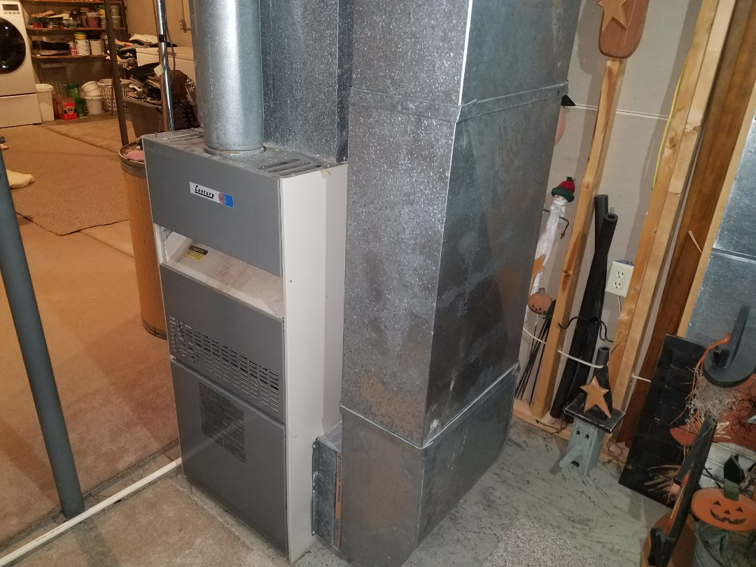 Plymouth, IN - Replaced 25 year old furnace and AC with new Bryant Evolution system.
