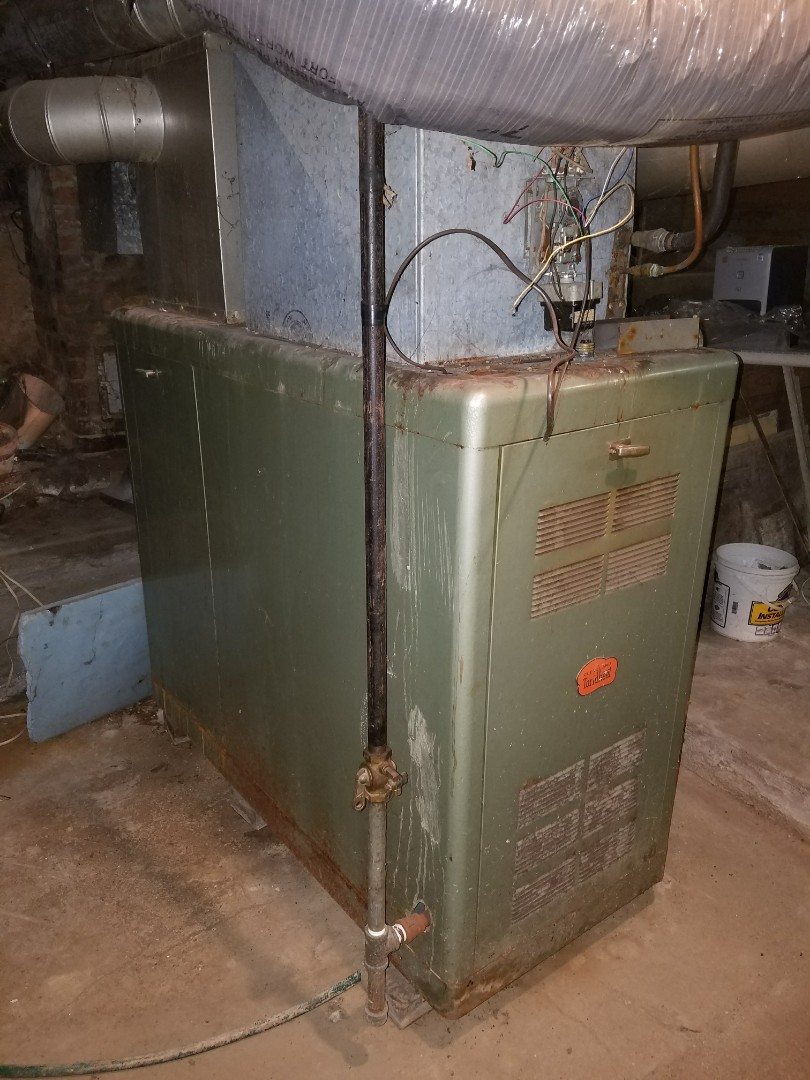 Wabash, IN - Replace existing 60% gas furnace with new Bryant high efficiency 95% gas furnace