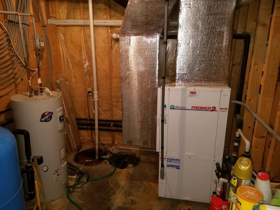 Furnace Repair And Air Conditioner In Huntington Water Wiring Replacing Twenty Two Year Old Open Loop