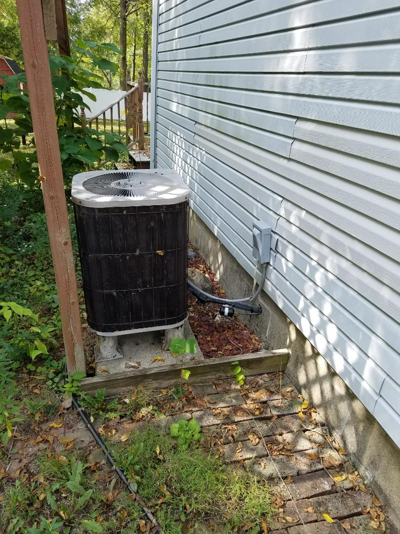 Warren, IN - Replace furnace and air conditioner with new Bryant furnace and air conditioner