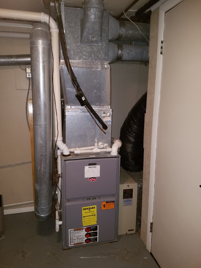 Roanoke, IN - Replace Weather King furnace with new Bryant high efficiency furnace