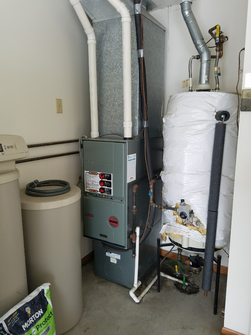 Huntington, IN - Replace Ruud 90% furnace with Bryant 95% high efficiency furnace