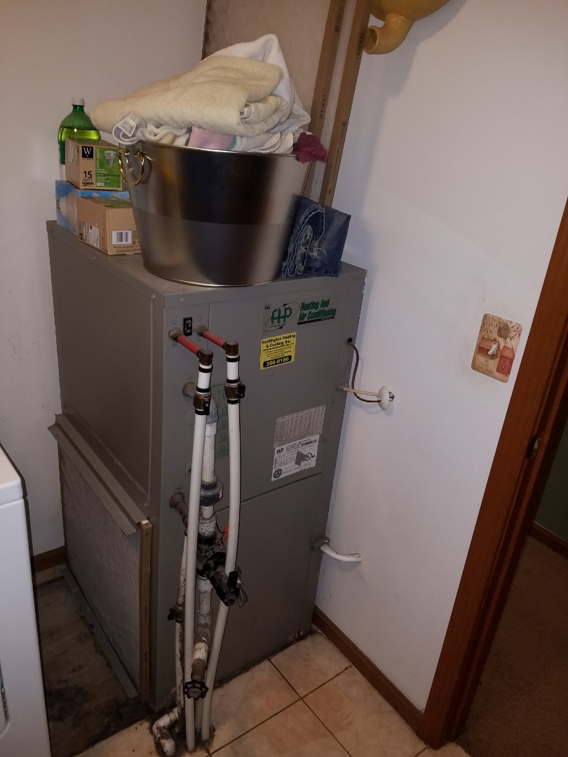 Wabash, IN - Replace Florida heat pump geothermal system with new water furnace 2 stage high-efficiency geothermal system