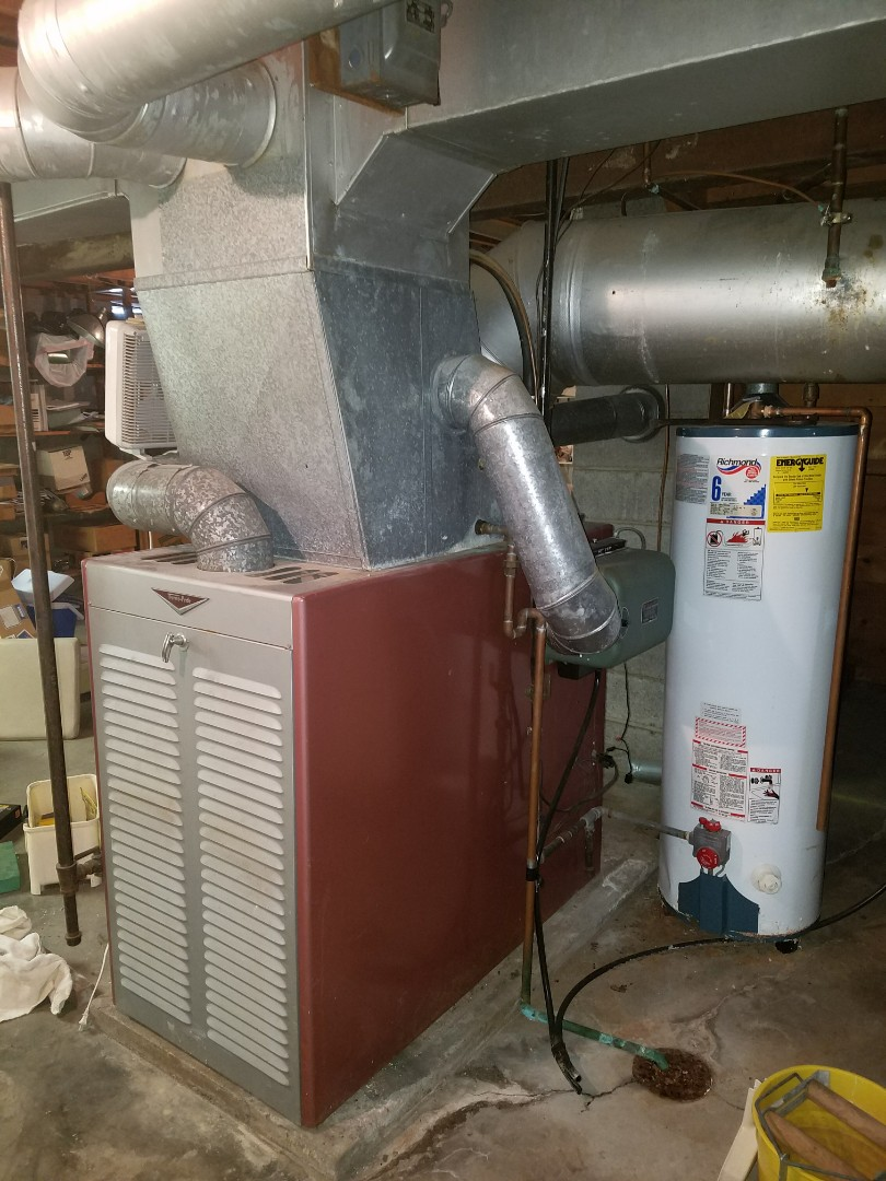 Huntington, IN - Replace gas furnace and air conditioner with high efficiency Bryant extreme heat pump