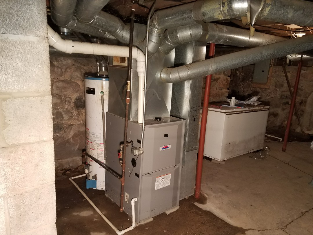 Plymouth, IN - Replace Heil furnace with new Bryant high efficient furnace.