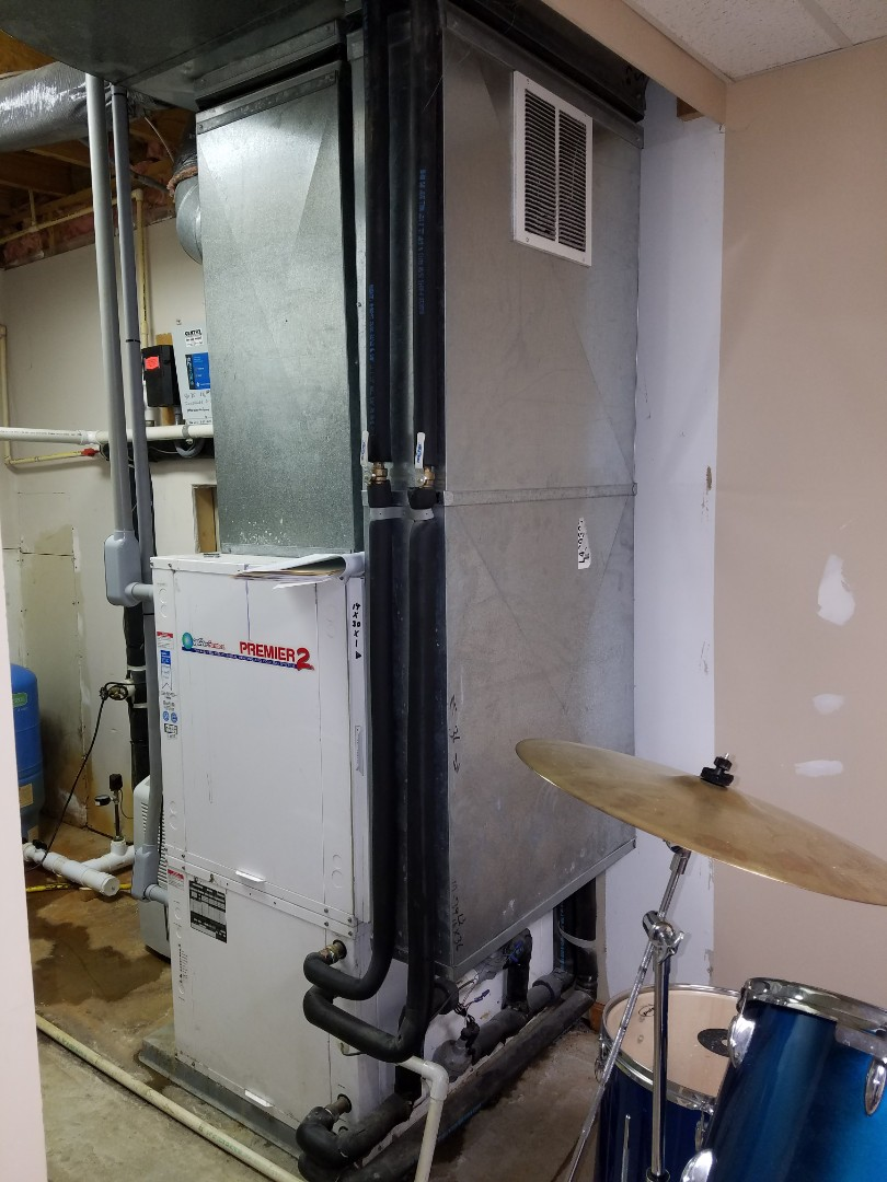 Wabash, IN - Replace twenty-five-year-old waterfurnace open-loop geothermal system with new 2-stage water furnace geothermal system