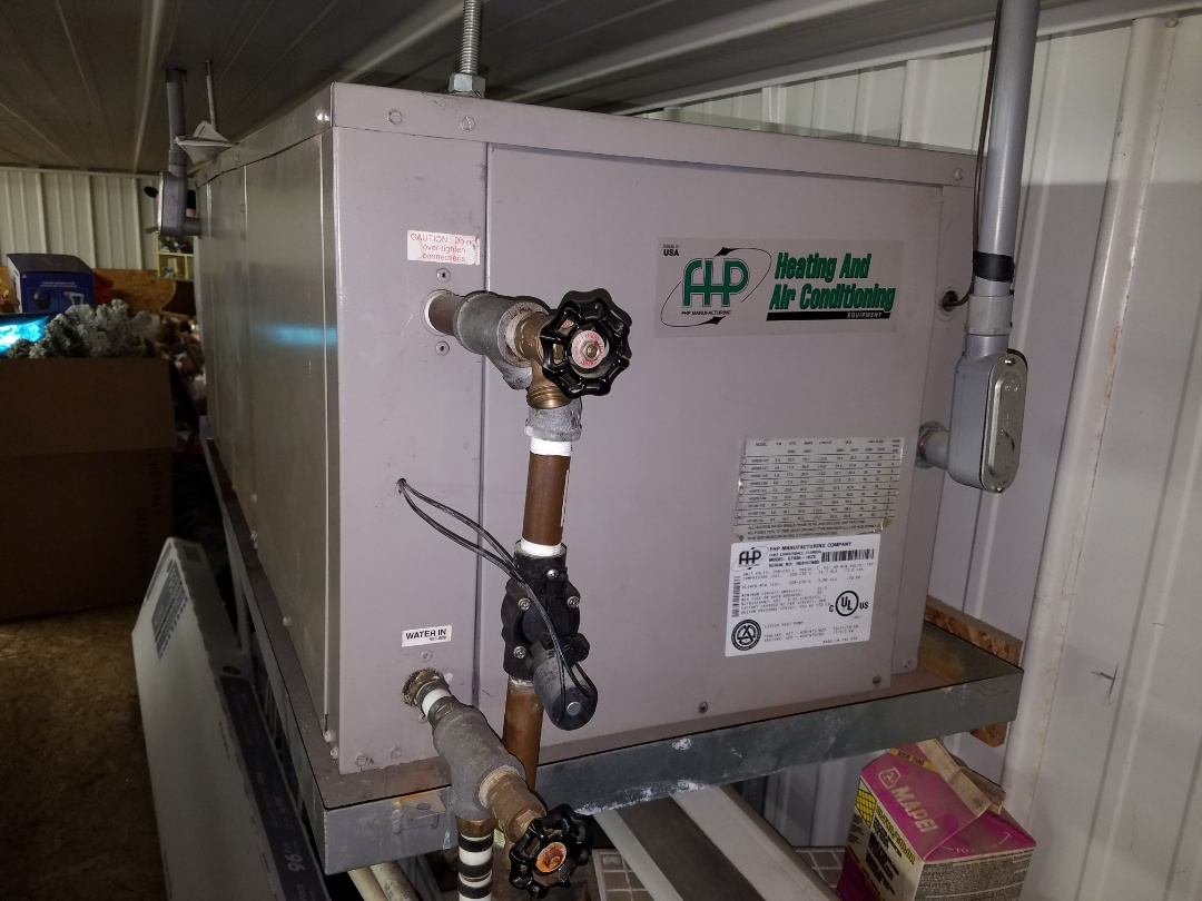 Wabash, IN - Replace horizontal Florida heat pump geothermal system with a new water furnace Series 5 2-stage high efficiency open-loop geothermal system
