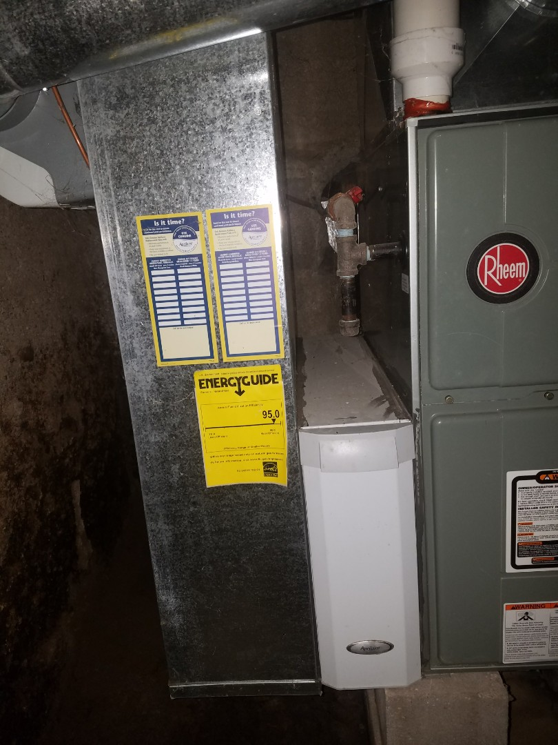 Warren, IN - Replace existing Rheem air conditioner with new Bryant air conditioner