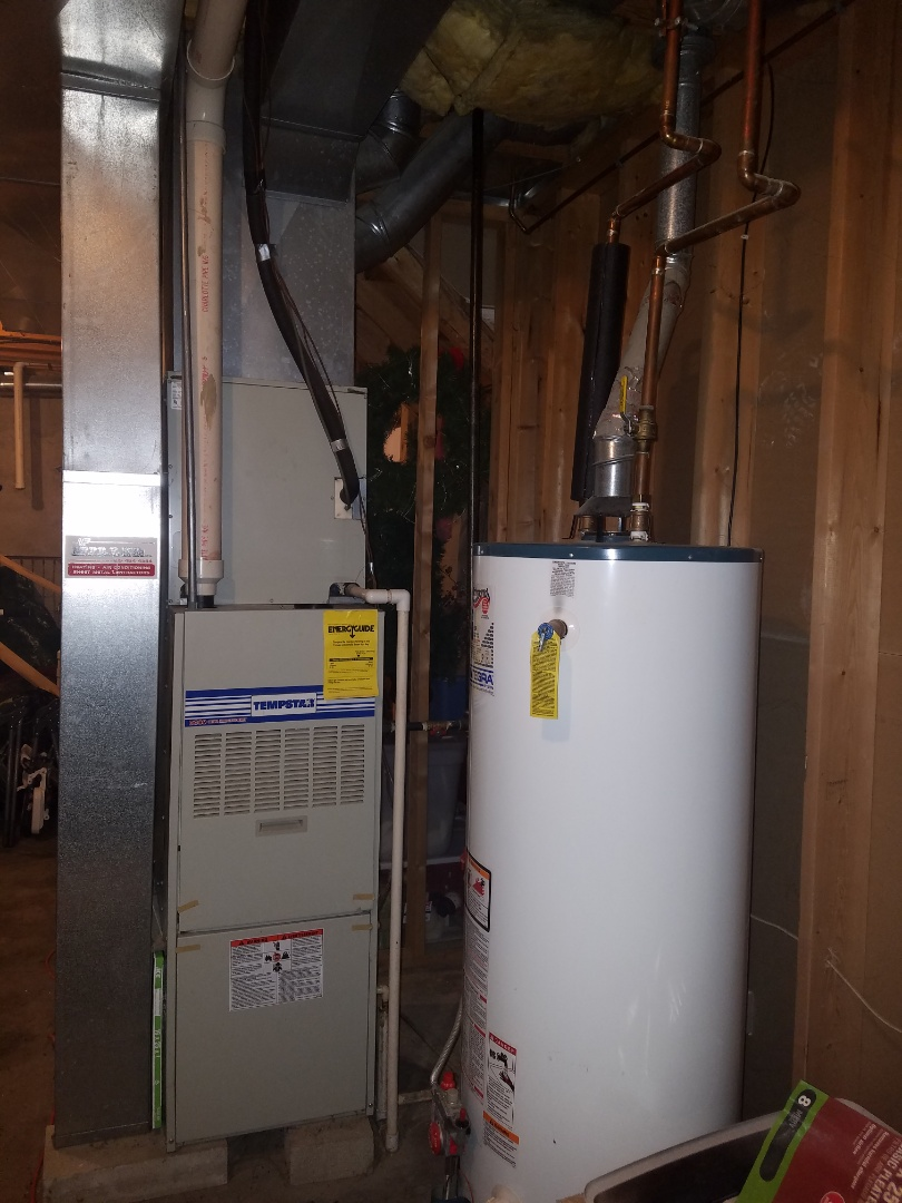 Huntington, IN - Replace existing Tempstar furnace and air conditioner with new Bryant Evolution variable capacity furnace and air conditioner
