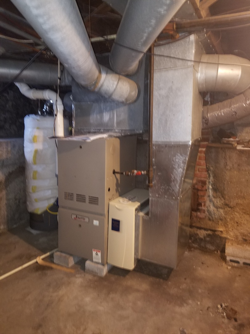 Huntington, IN - Replace existing air conditioner with new Bryant air conditioner and rework duct work for proper air flow through the system
