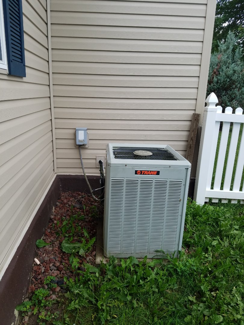 Warren, IN - Replace Trane air conditioner with new Bryant air conditioner