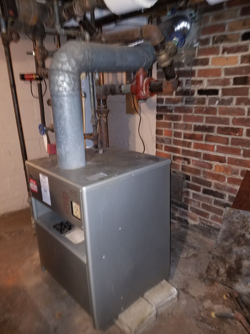 Huntington, IN - Replace existing 70% boiler with new Weil Mclain 95% boiler