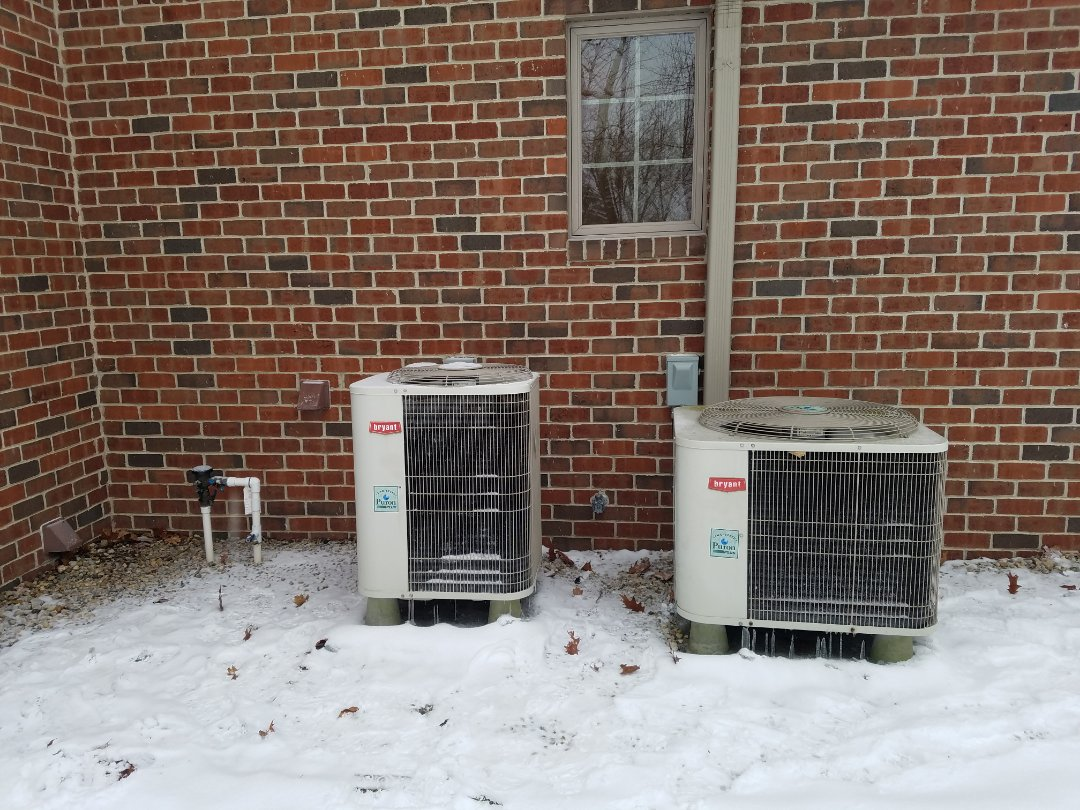 Wabash, IN - Replace Bryant 20 year old heat pumps with new Bryant extreme variable capacity heat pumps