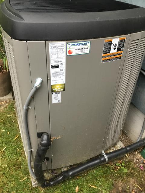 Tacoma, WA - In Tacoma, performing a preventative maintenance service. The unit is  in great condition and is in manufactures specs!