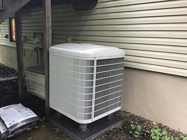 Gahanna, OH - Gahanna heatpump repair. Carrier HVAC service