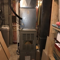 Pataskala, OH - Checked static pressures on new Carrier units