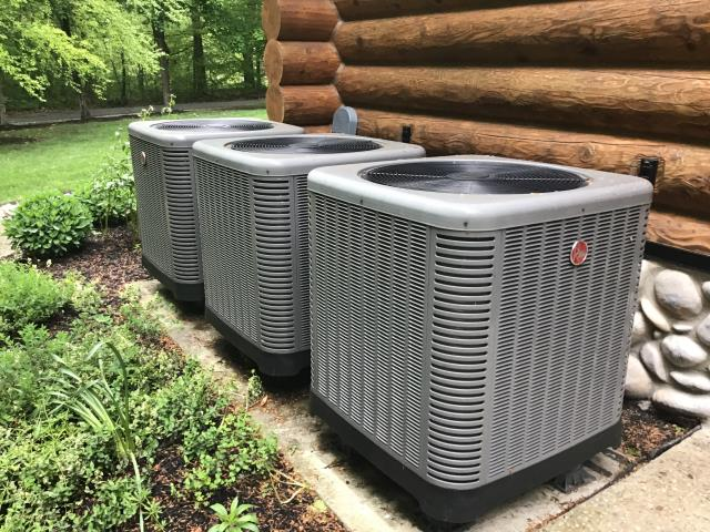 Groveport, OH - Gave free estimate for zone stats and a control fix on Rheem ac units