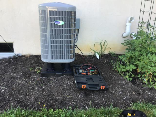 Canal Winchester, OH - Confirmed bad control on Carrier Infinity thermostat so replaced with control from the shop under warranty. Cycled system on and cooling at this time.
